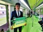 """南宁地铁开辟免费""""绿色通道""""助力高考"""